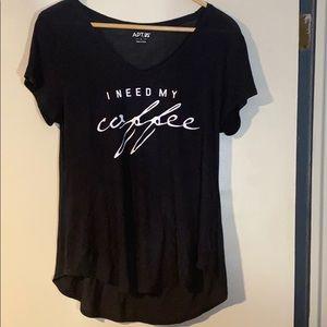 Apt. 9 t-shirt, size L